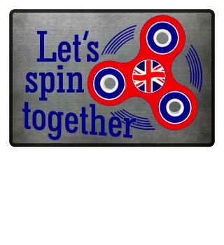 Fidget spinner UK - lets spin together