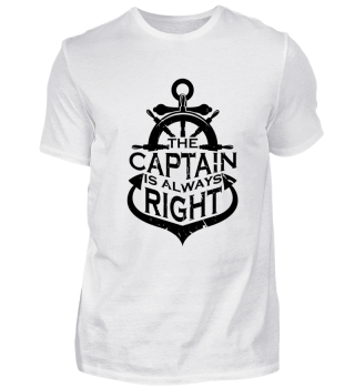 Captain is always right