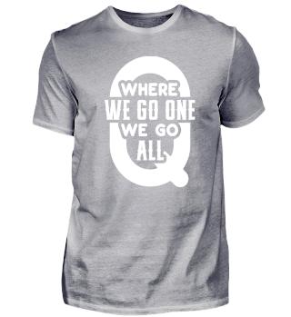 QAnon WWG1WGA Q Anon T-Shirt Great Awake