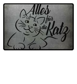 ♥ Alles für die Katz - schwarz