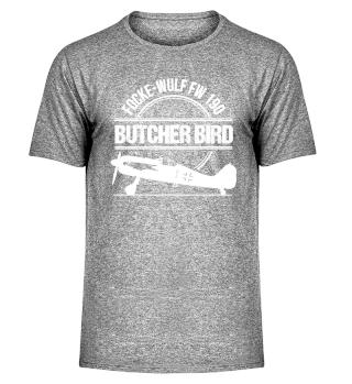 Focke Wulf FW 190 Butcher Bird Warbird Plane Aeroplane