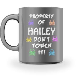 Property of Hailey Mug