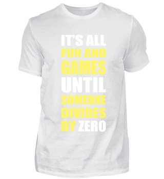 DIVIDES BY ZERO