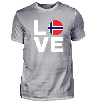 Love Norwegen - Norwegen Liebe