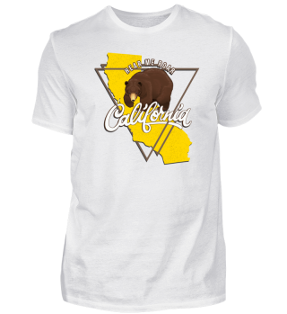 California Tee - Bear - Hear me Roar