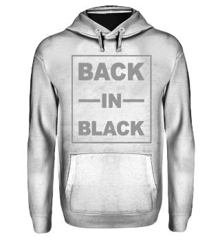 Back In Black - grau