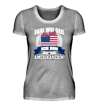 Amerikanerin USA US-Amerikanerin