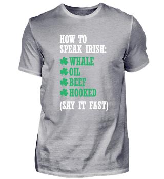 Wie irisch zu sprechen?