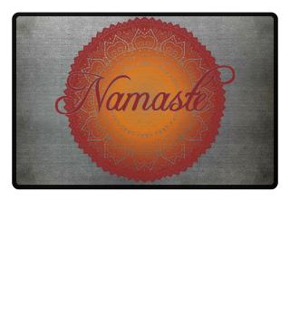 Ethno Folklore Lotus Mandala Namasté 5c