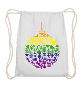 Icons Christmas Tree Ball - LGBT rainbow