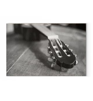 Gitarre Gitarrenhals auf Leinwand Bild