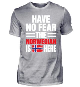 Geschenk Norweger Norwegen Spruch