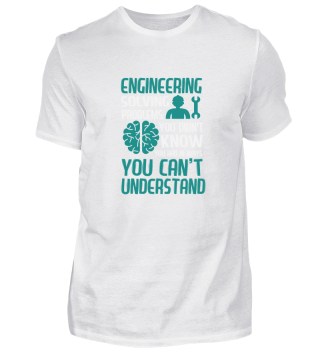 Engineer Solving Problems Gift