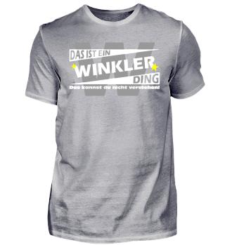 WINKLER DING | Namenshirts