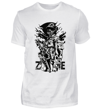 ☛ ZOMBIE SOLDIER #8