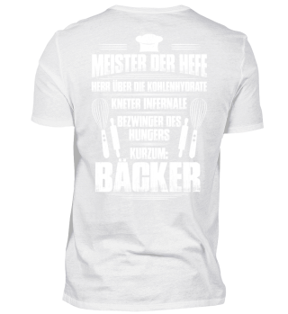 Bäcker Meister der Hefe Bäckerin Backen