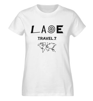 Laoe Travel 7 Klassisches Logo Black ( Women )