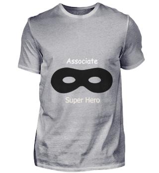 Associate Superhero schwarz