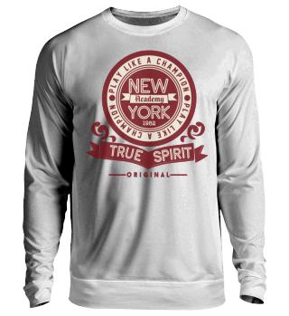 Herren Langarm Shirt New York Academy Ramirez