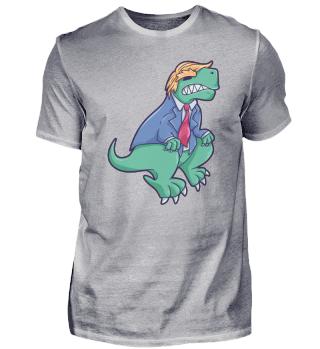 Trump dinosaur T-Rex