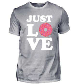 Donut Liebe Süßigkeiten Geschenk