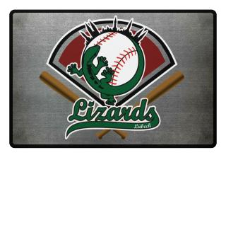 Lizards Fußmatte Baseball