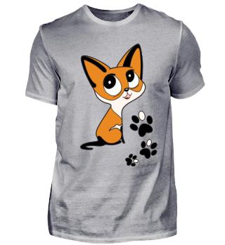 Katze Fuchs Rotfuchs Mieze Süß Pfoten