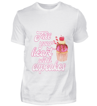 Fill your heart with cupcakes