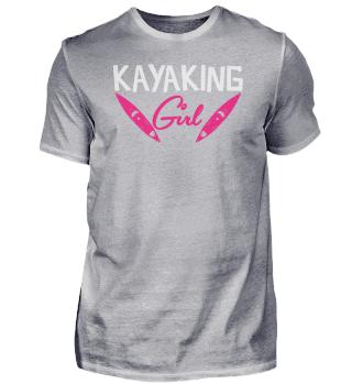 Kayaking Girl | Mädchen Kajak Kayak Kanu