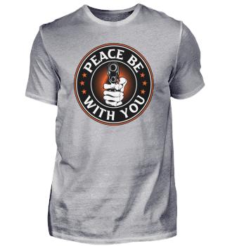 Peace Be With You Design für einen
