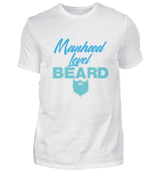 Manhood Level Beard Bearded Man