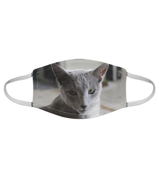 Gesichtsmaske mit Katzenmotiv 20.79