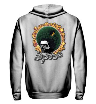 Herren Zip Hoodie Sweatshirt Let's Get It On Ramirez