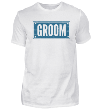 Groom Blue