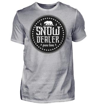 Herren Kurzarm T-Shirt Snow Ramirez