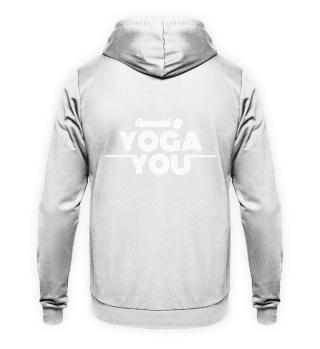 Unisex Hoodie Rug Namasté @ Yoga You