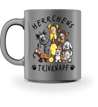 Herrchens Trinknapf Hunde Tasse