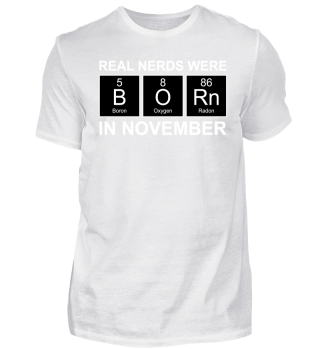 Periodic Elements - BORN november white