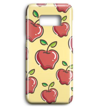 Apfel Handyhülle Handycase Geschenk