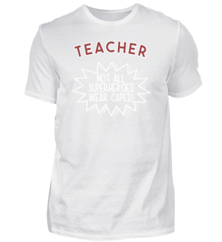 Superhero Capes Teacher