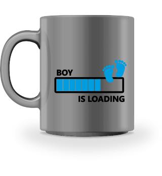 Boy is loading - pregnant EN