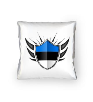 Estland-Estonia Wappen Flagge 013