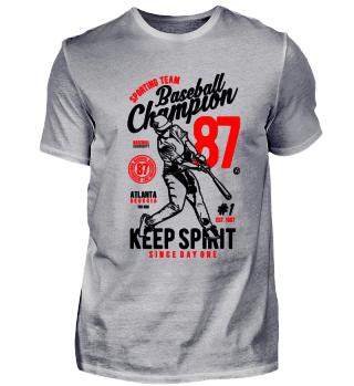 Baseball Champion Keep Spirit