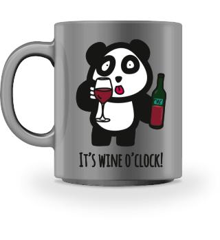 Drinking Panda - It's wine o'clock!