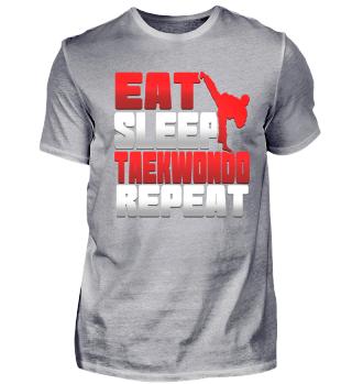 Eat. Sleep. Taekwondo. Repeat.