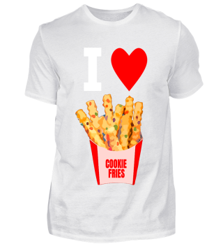 I Love Cookie Fries