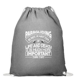 Paragliding - Important