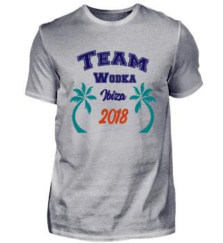 Team Wodka Ibiza Gruppen Shirt 2018