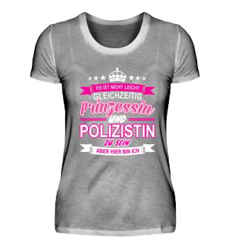 Polizistin Prinzessin Idee Geschenk