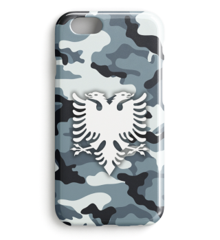 Flamujt e Camouflage Shqiptare Iphone 1